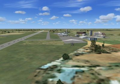 Screenshot of Senai International Airport 2011 Scenery.