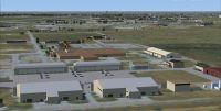Screenshot of Sheppard Air Force Base Scenery.