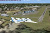 Screenshot of Small German Airfields Scenery.