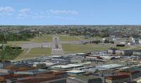 Screenshot of runway 30, Stockholm (Bromma) Airport.