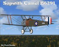 Screenshot of Sopwith Camel B6291 in flight.