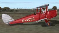 Screenshot of Tiger Moth G-ACDC.