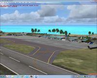 Screenshot of Tobago TTCP Scenery.