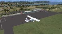 Screenshot of Tokushima Airport Scenery.