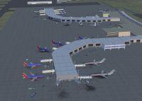 Screenshot of Tucson Arizona International Airport.