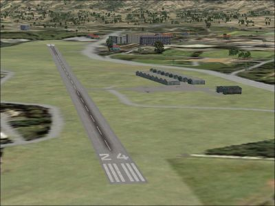 Screenshot of a Venezuelan Airport runway.