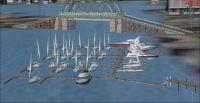Screenshot of Victoria Inner Harbor.