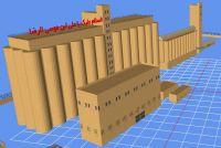 Screenshot of Wheat Silo model.