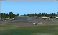 Screenshot of Wings Field Airport Scenery.