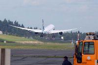Boeing's ZA006 test flight from Boeing Field.