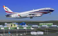 Air Bucharest aircraft in FlightGear.
