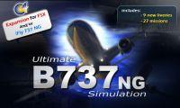 B737NG product banner.