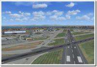 Screenshot using Mega Airport Lisbon X from Aerosoft.