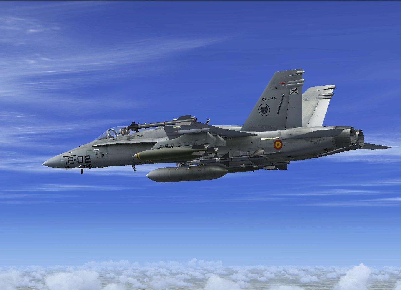 Resultado de imagen para air force spanish f-18