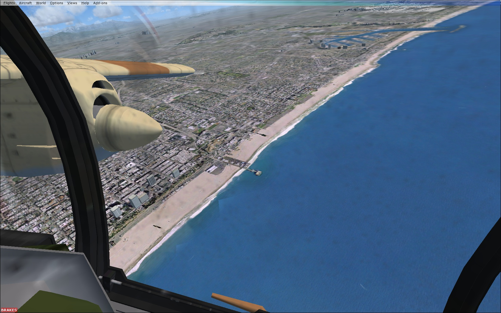 Almost all aircraft designed Microsoft Flight Simulator X (SP2 or