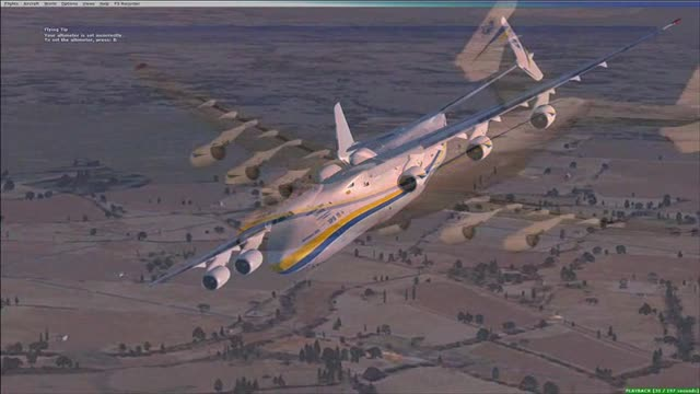 Video Antonov An 225 Mriya In Flight