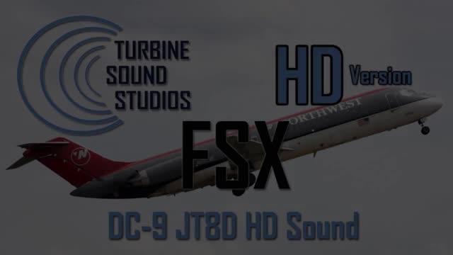 Tss Boeing 727 Jt8d sound