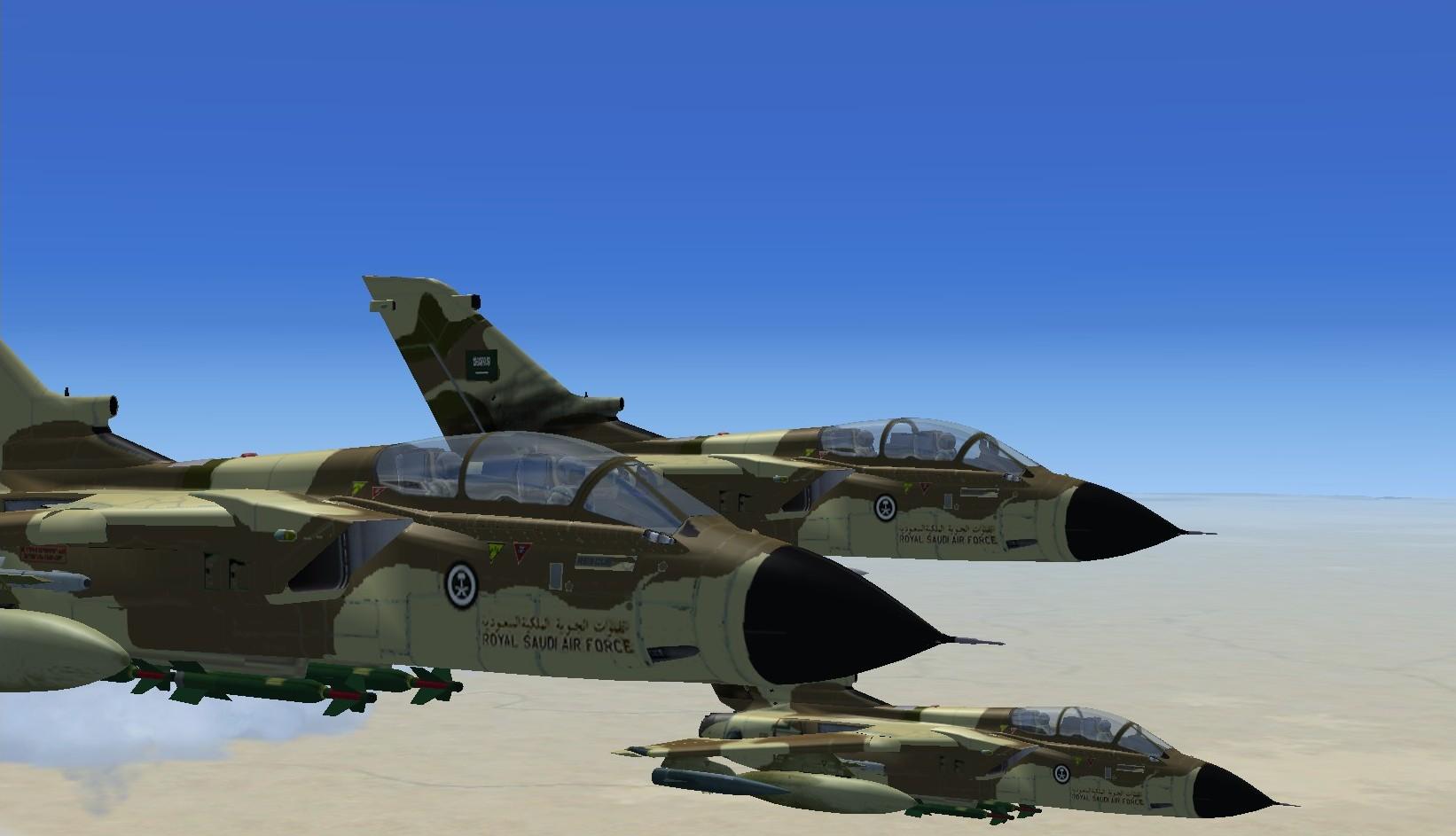 الموسوعه الفوغترافيه لصور القوات الجويه الملكيه السعوديه ( rsaf ) Panavia-Tornado-IDS-Royal-Saudi-Air-Force-HZ-711-Saudi-Arabia