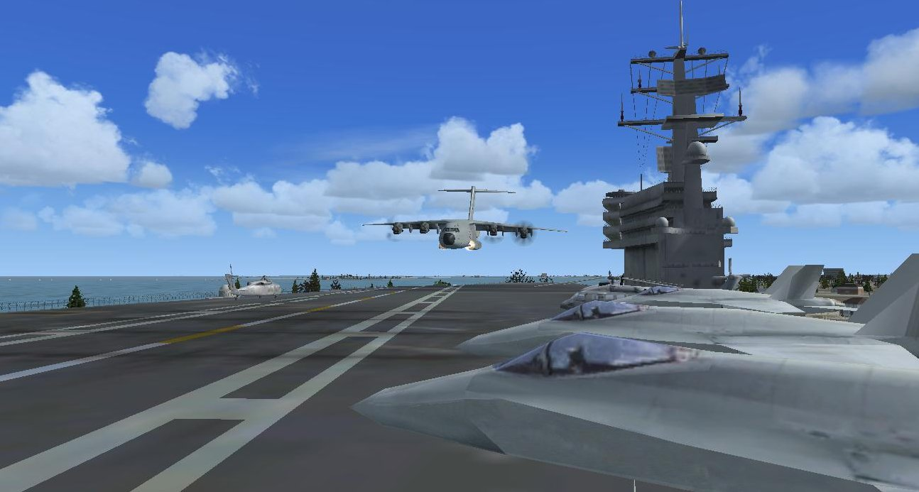 C 17 On Aircraft Carrier 17 On Aircraft Carrier...