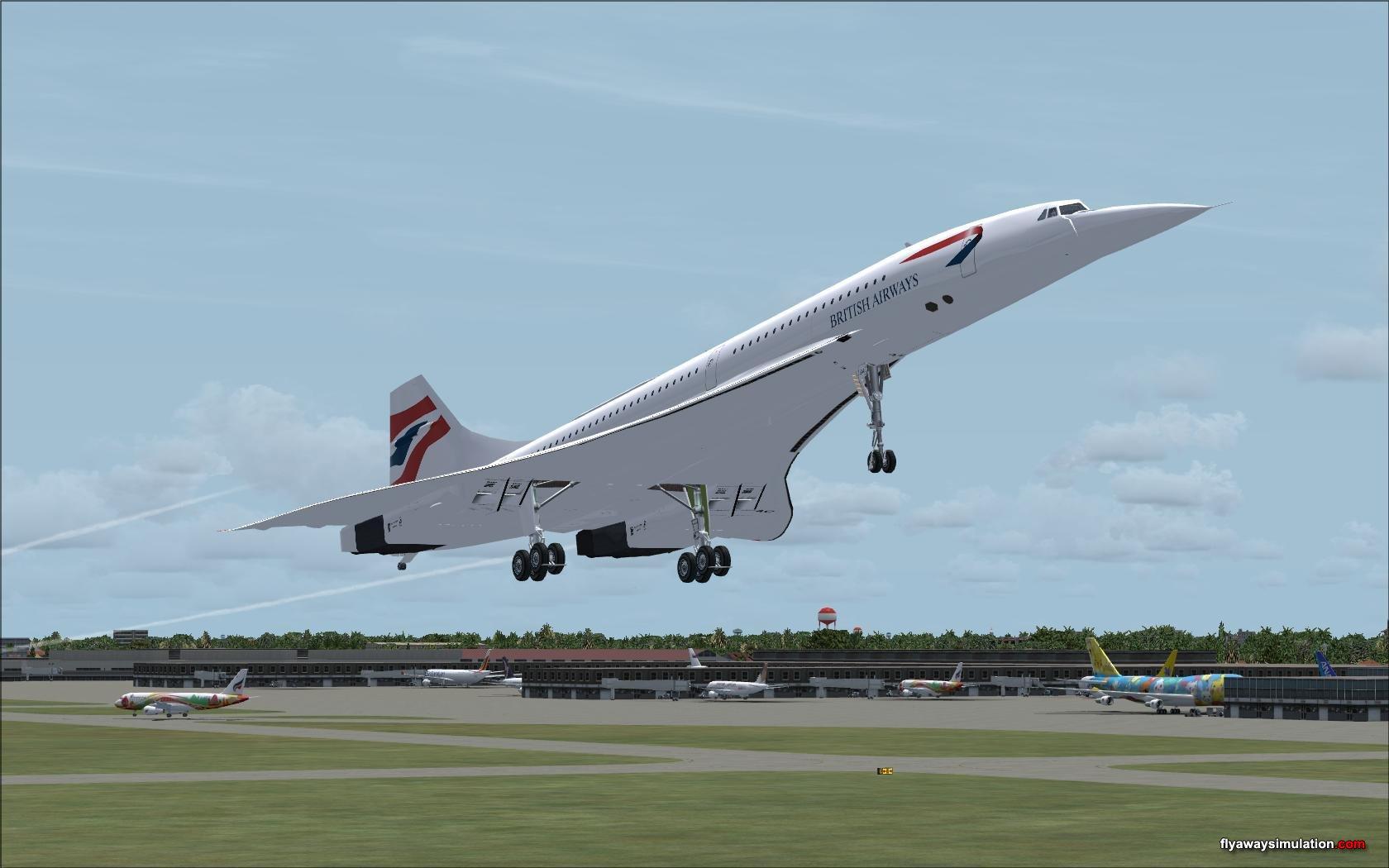 flight take off wallpaper