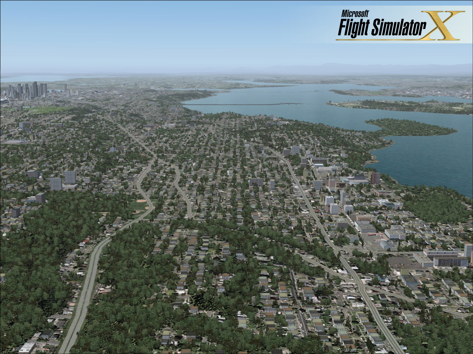 Flight Simulator X London Scenery Wallpaper