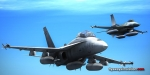 F/A-18D Training with F-16A