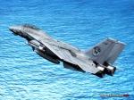F-14 over Caribbean