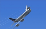 Air France B707 over EGLL / Heathrow