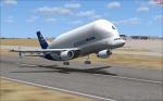 Beluga departing MCAS Miramar
