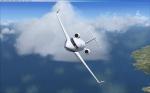 Challenger 601 landing @ KOPF