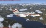 F14 Tomcat over Lago di Garda