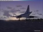United Concorde Repaint