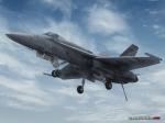 F/A-18C on Final