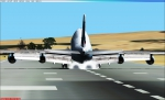 Cathay Pacific cargo 747 -400 BCF perfect touch down