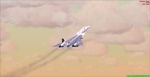 Concorde Departs Kai-Tak