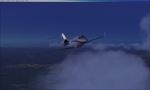 Cessna Citation Turning at my fist way point