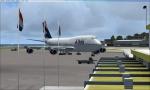 Delta 747 at TNCM