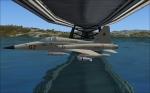 F-5 under bridge