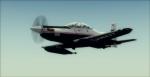 IRIS Pilatus PC-21 over Pensacola in fog