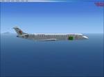 bombardier CRJ700 air algerie repant
