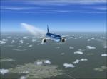 737-800 25,000 feet over Central KY