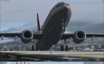 Boeing 737-8Z9 Lauda Air Tirol departing in Innsbruck to Gran Canaria