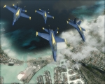 Four Hornets over Hawaii