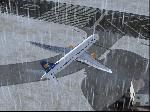 Dreamliner holding short rw 19 @ BIRK