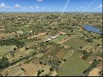 Beechcraft Baron 58 Swooping Down