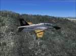 Boeing T-45C Goshawk Over Rockies