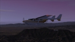 Cessna 337 Hollywood at Dusk