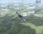 L-39C over training zone
