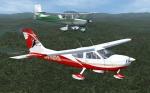 Cessna Formation Flight