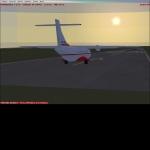 sunset flight part 1